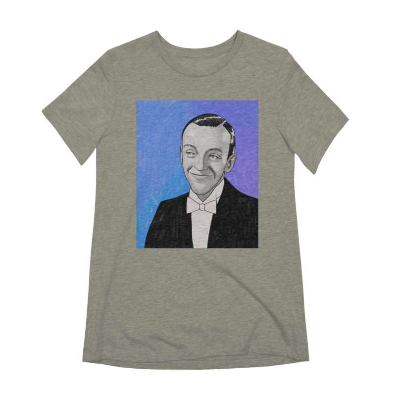 Fred Astaire Women's Extra Soft T-Shirt by Kate Gabrielle's Threadless Shop