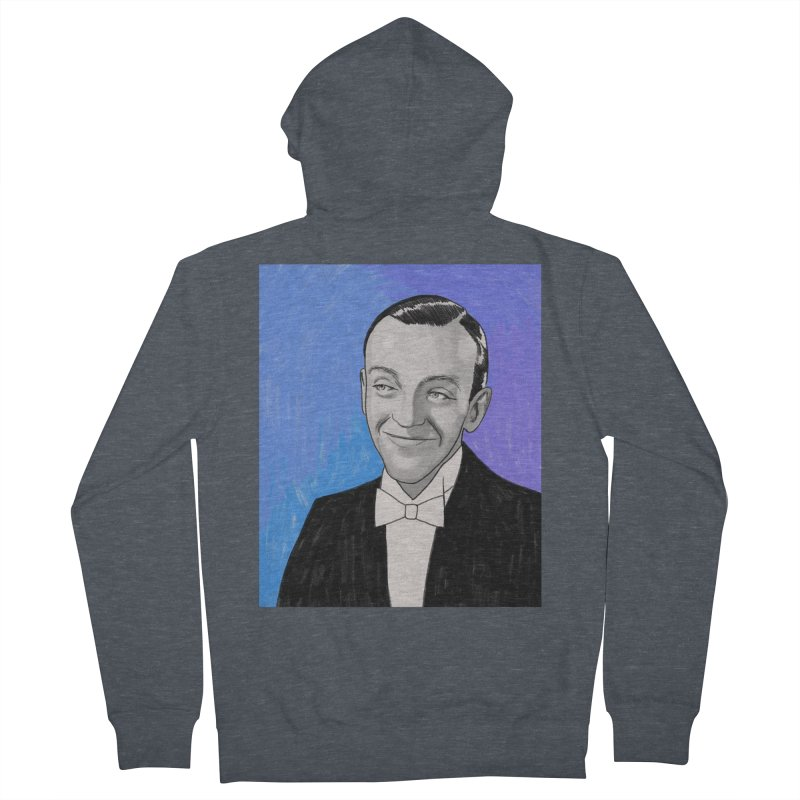Fred Astaire Women's French Terry Zip-Up Hoody by Kate Gabrielle's Threadless Shop