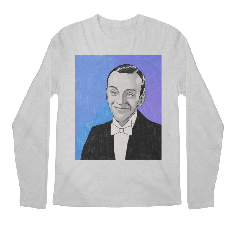 Fred Astaire Men's Regular Longsleeve T-Shirt by Kate Gabrielle's Threadless Shop