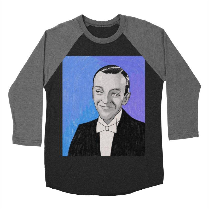 Fred Astaire Men's Baseball Triblend Longsleeve T-Shirt by Kate Gabrielle's Threadless Shop