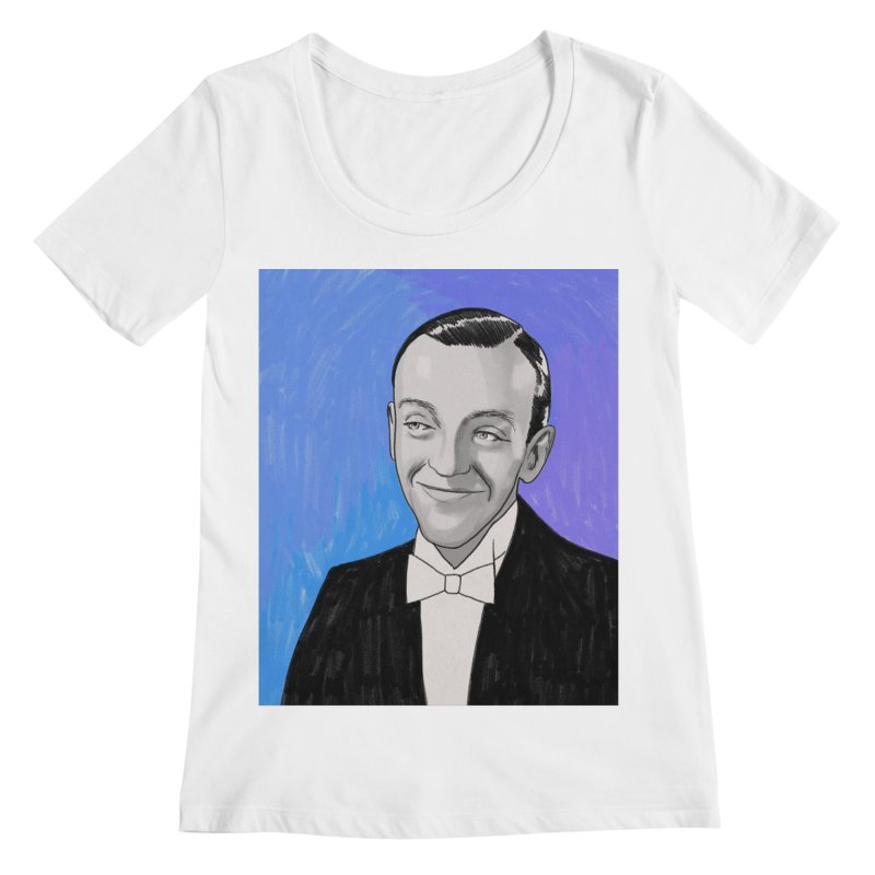 Fred Astaire Women's Regular Scoop Neck by Kate Gabrielle's Threadless Shop