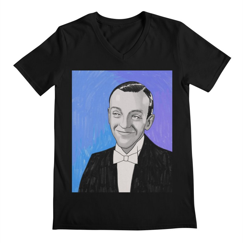 Fred Astaire Men's Regular V-Neck by Kate Gabrielle's Threadless Shop