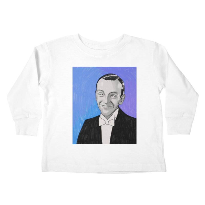 Fred Astaire Kids Toddler Longsleeve T-Shirt by Kate Gabrielle's Threadless Shop