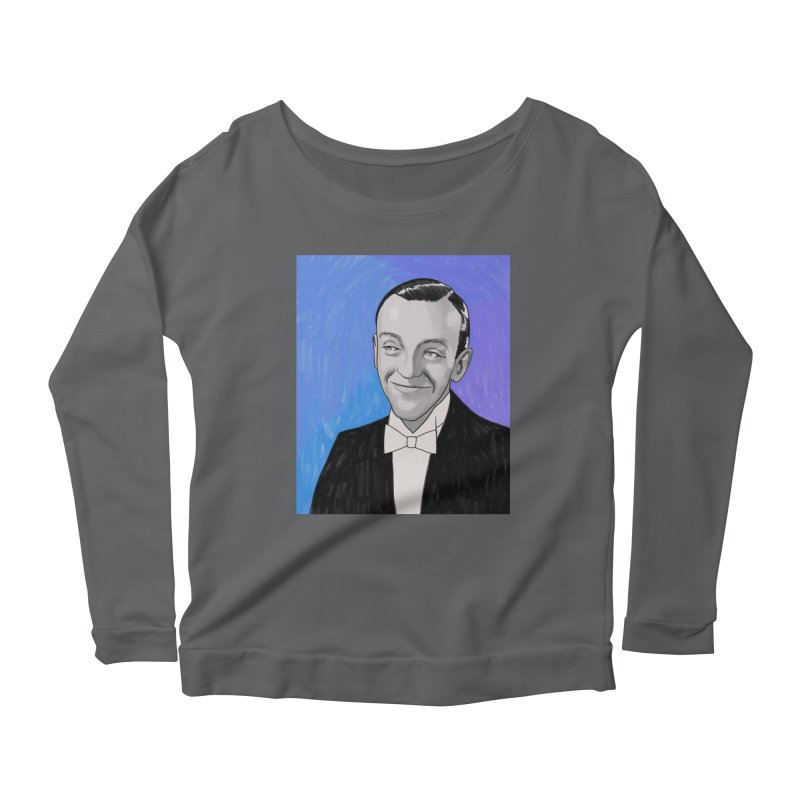 Fred Astaire Women's Scoop Neck Longsleeve T-Shirt by Kate Gabrielle's Threadless Shop