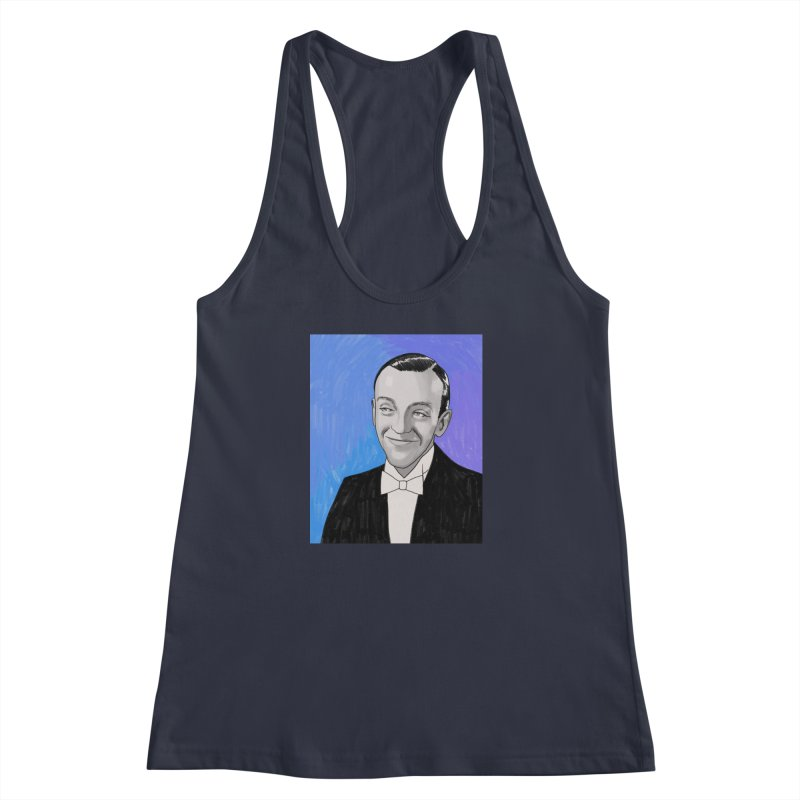 Fred Astaire Women's Racerback Tank by Kate Gabrielle's Threadless Shop