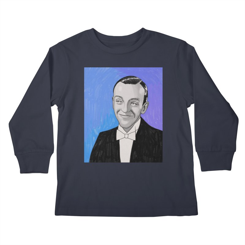 Fred Astaire Kids Longsleeve T-Shirt by Kate Gabrielle's Threadless Shop