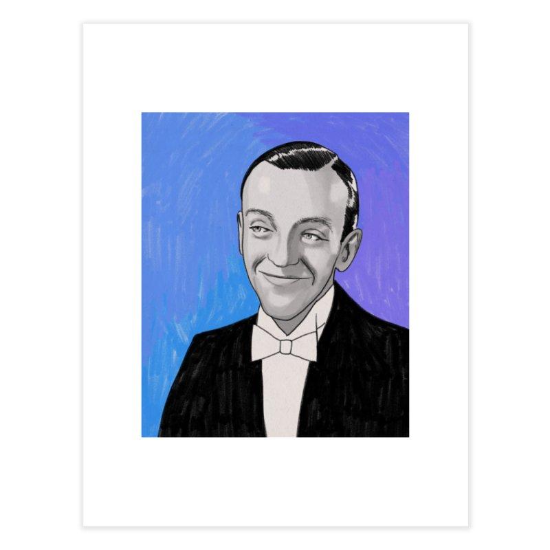 Fred Astaire Home Fine Art Print by Kate Gabrielle's Threadless Shop