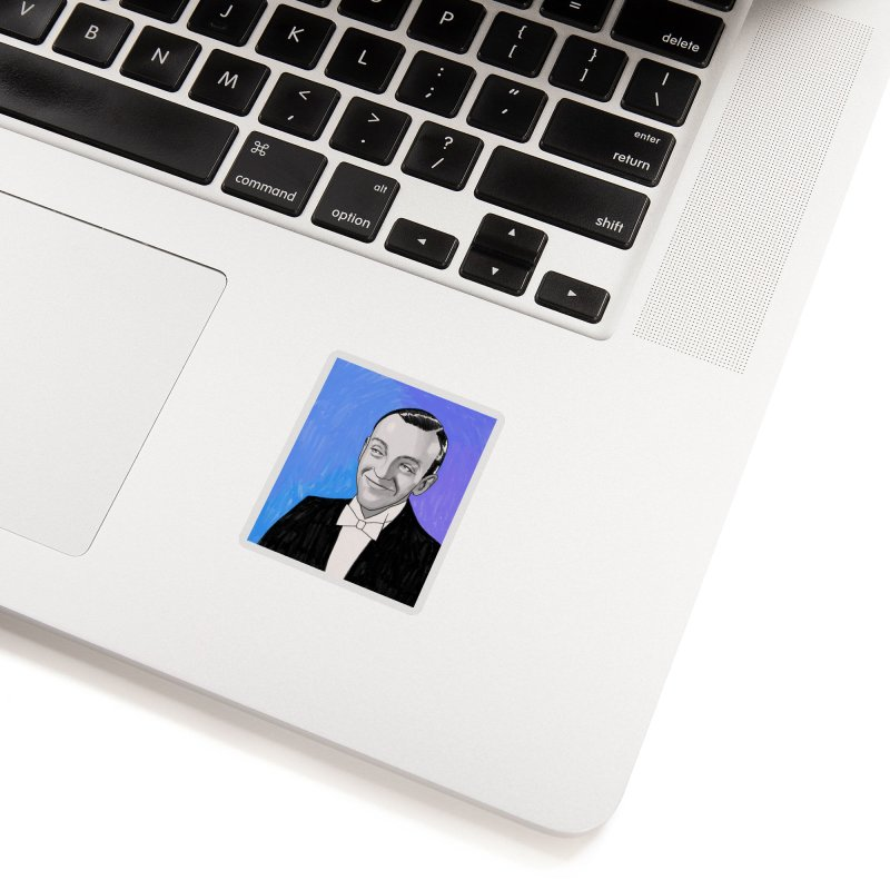 Fred Astaire Accessories Sticker by Kate Gabrielle's Threadless Shop