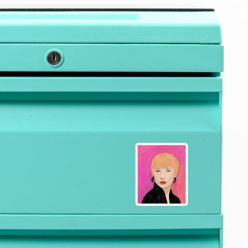 Shirley MacLaine Accessories Magnet by Kate Gabrielle's Threadless Shop