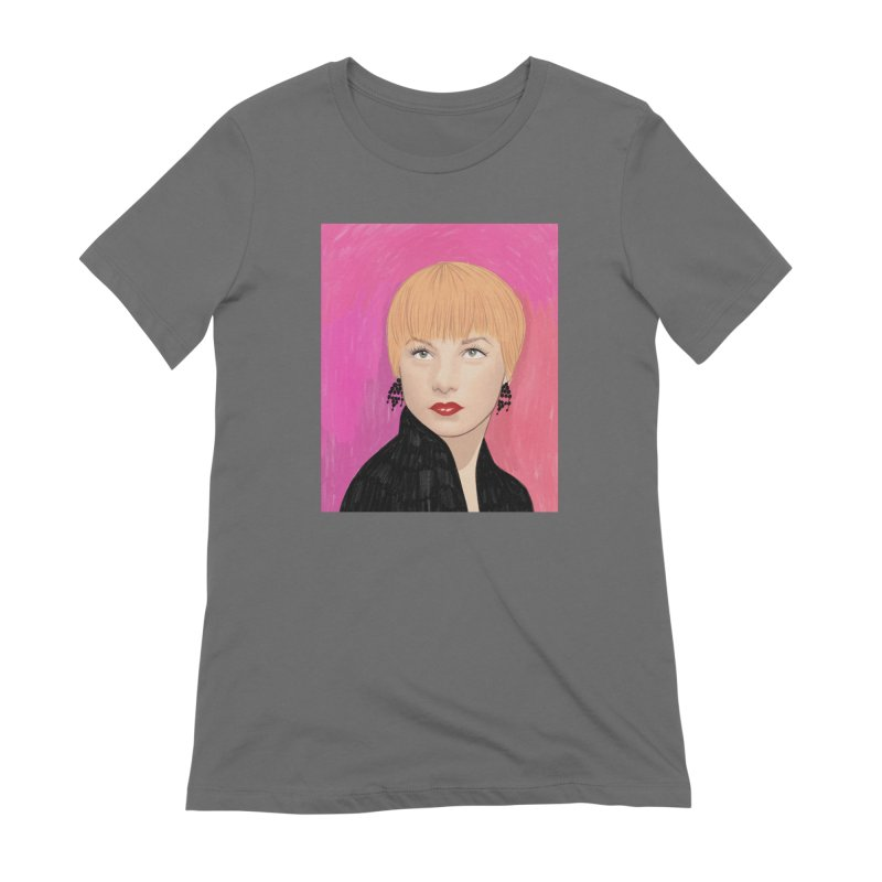 Shirley MacLaine Women's T-Shirt by Kate Gabrielle's Threadless Shop