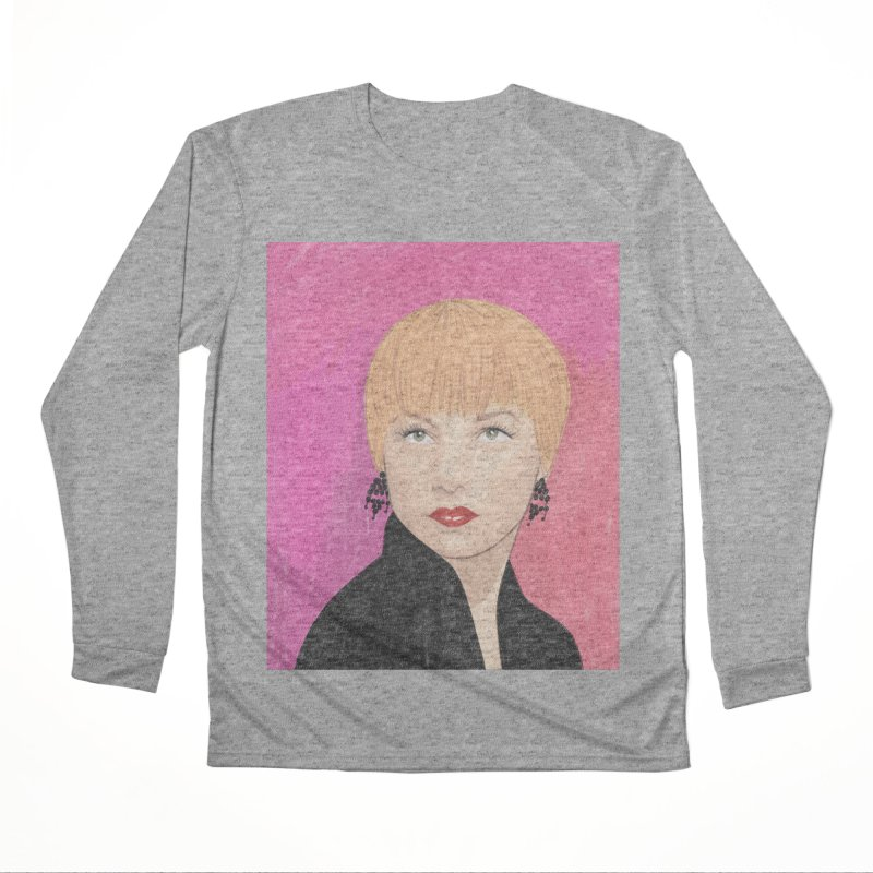 Shirley MacLaine Men's Performance Longsleeve T-Shirt by Kate Gabrielle's Threadless Shop