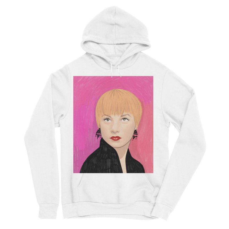 Shirley MacLaine Women's Sponge Fleece Pullover Hoody by Kate Gabrielle's Threadless Shop