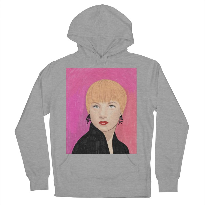 Shirley MacLaine Men's French Terry Pullover Hoody by Kate Gabrielle's Threadless Shop