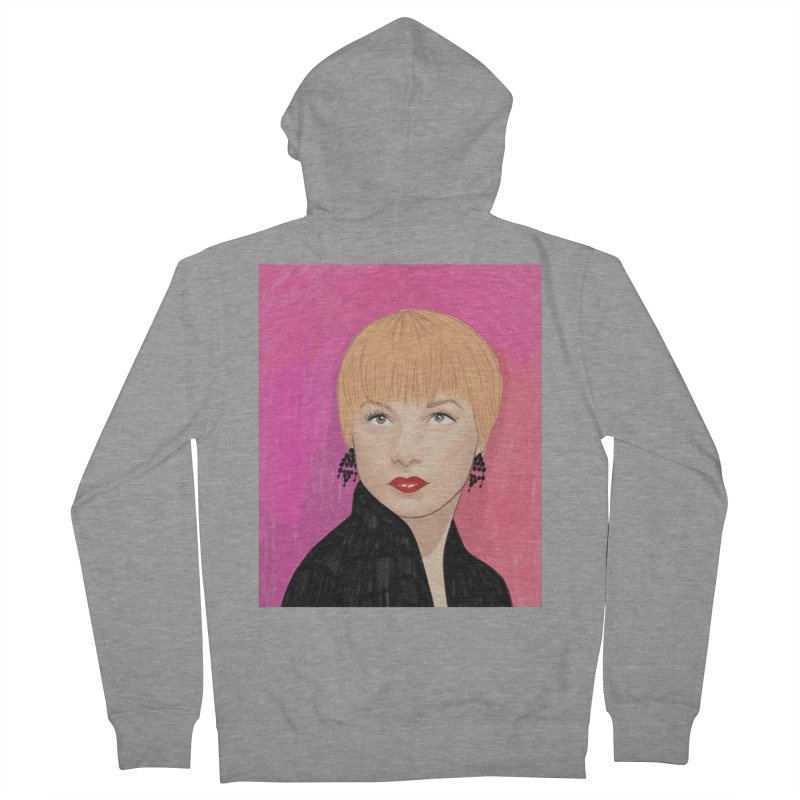Shirley MacLaine Women's French Terry Zip-Up Hoody by Kate Gabrielle's Threadless Shop