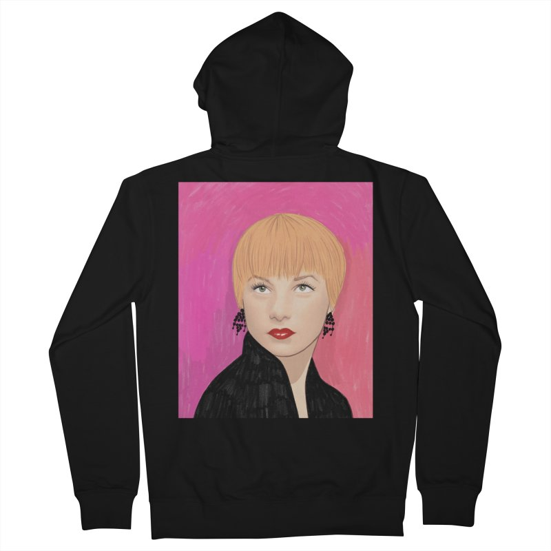Shirley MacLaine Men's French Terry Zip-Up Hoody by Kate Gabrielle's Threadless Shop