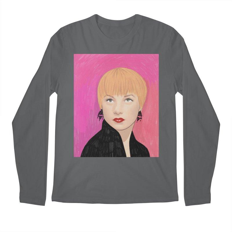 Shirley MacLaine Men's Regular Longsleeve T-Shirt by Kate Gabrielle's Threadless Shop