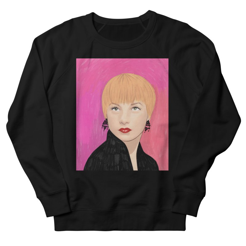 Shirley MacLaine Women's French Terry Sweatshirt by Kate Gabrielle's Threadless Shop