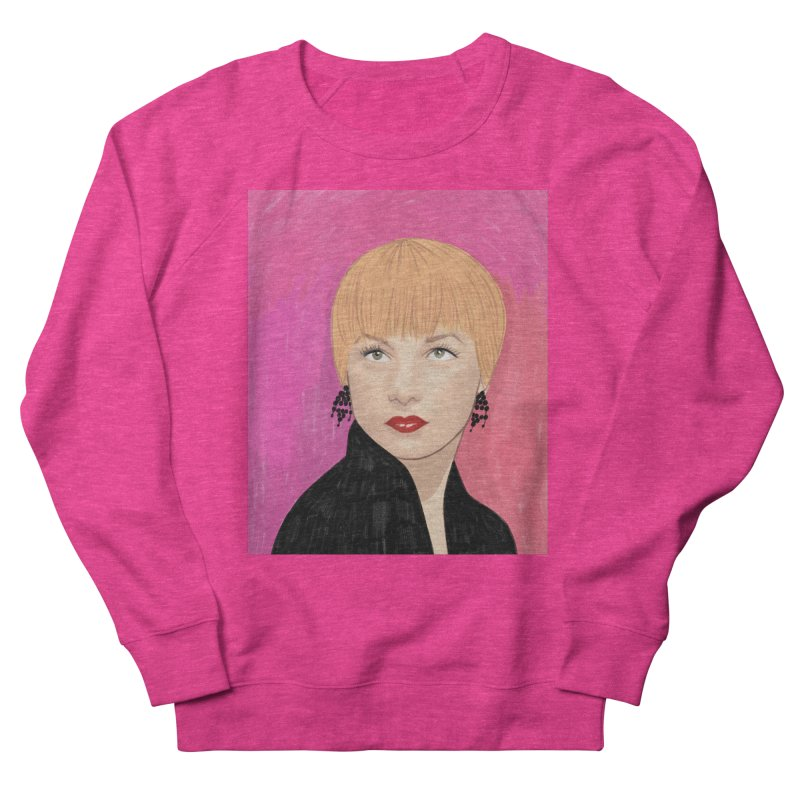 Shirley MacLaine Men's French Terry Sweatshirt by Kate Gabrielle's Threadless Shop