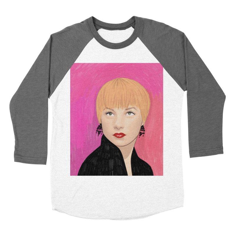 Shirley MacLaine Women's Baseball Triblend Longsleeve T-Shirt by Kate Gabrielle's Threadless Shop