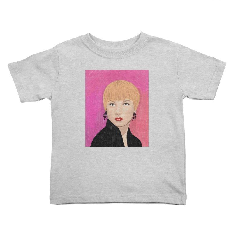 Shirley MacLaine Kids Toddler T-Shirt by Kate Gabrielle's Threadless Shop