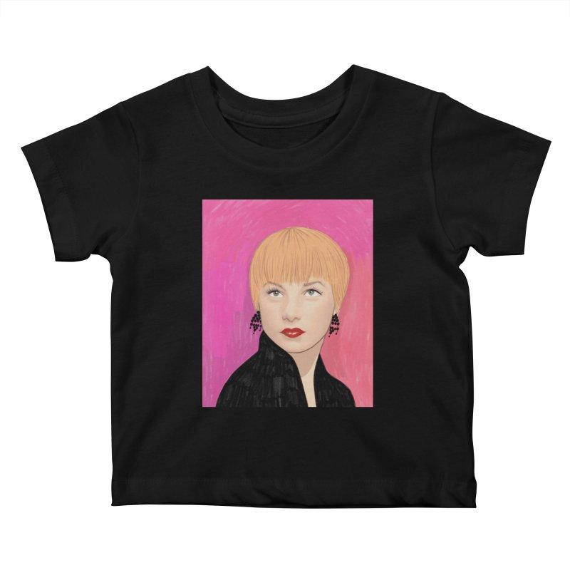 Shirley MacLaine Kids Baby T-Shirt by Kate Gabrielle's Threadless Shop