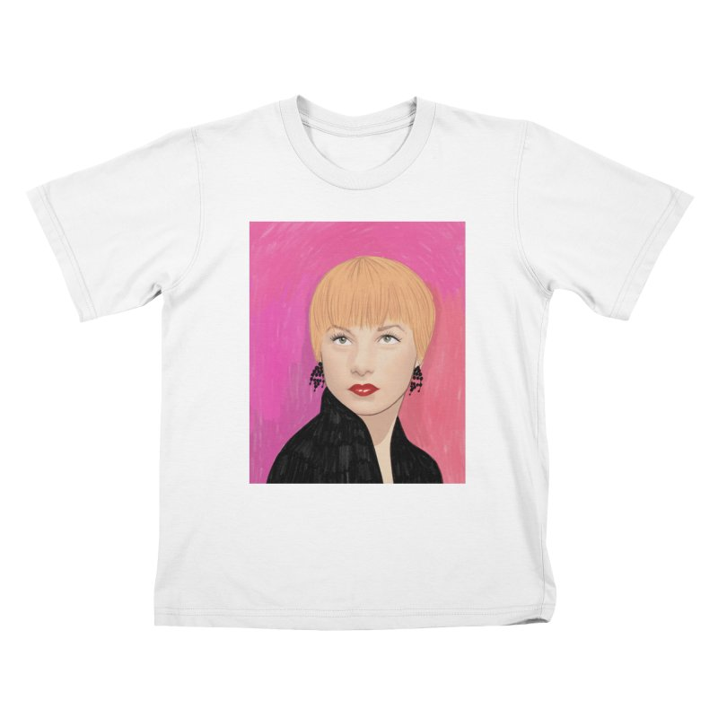 Shirley MacLaine Kids T-Shirt by Kate Gabrielle's Threadless Shop