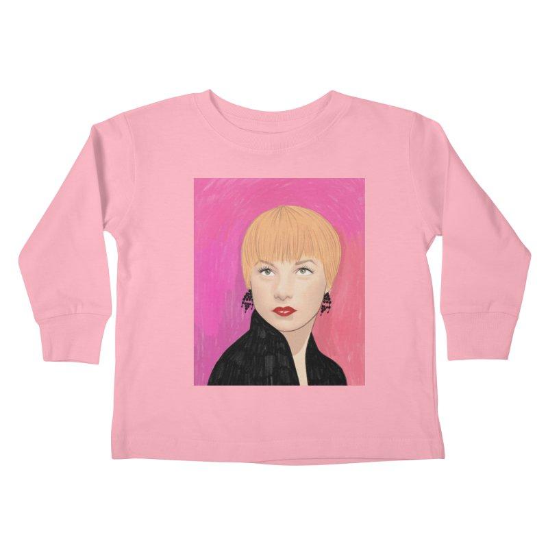 Shirley MacLaine Kids Toddler Longsleeve T-Shirt by Kate Gabrielle's Threadless Shop