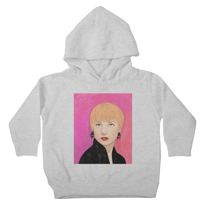 Shirley MacLaine Kids Toddler Pullover Hoody by Kate Gabrielle's Threadless Shop