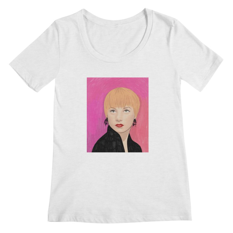 Shirley MacLaine Women's Regular Scoop Neck by Kate Gabrielle's Threadless Shop