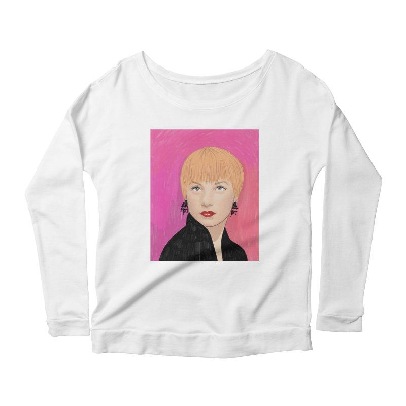 Shirley MacLaine Women's Scoop Neck Longsleeve T-Shirt by Kate Gabrielle's Threadless Shop