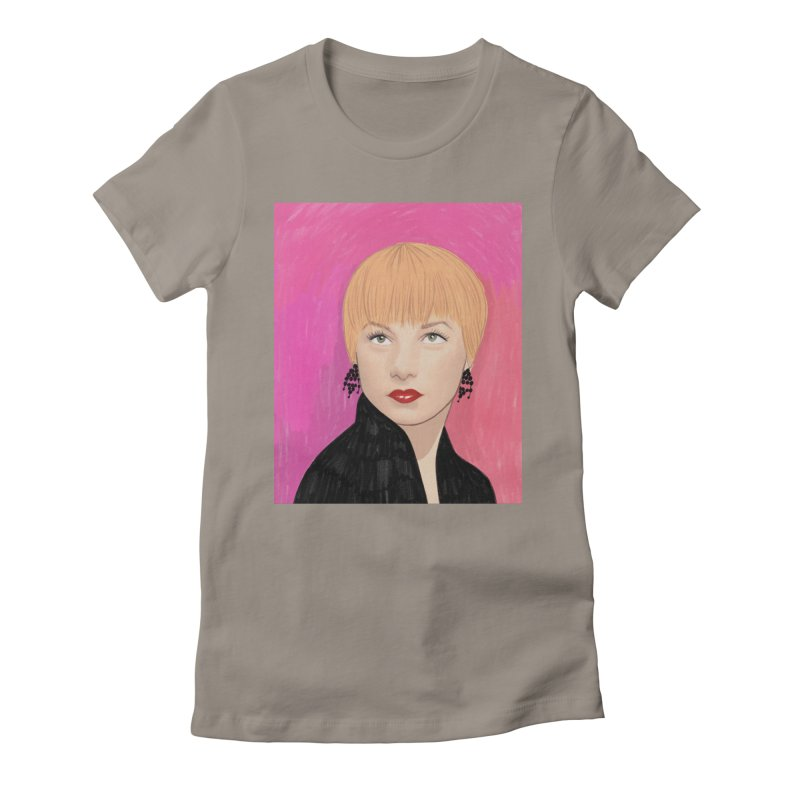 Shirley MacLaine Women's Fitted T-Shirt by Kate Gabrielle's Threadless Shop