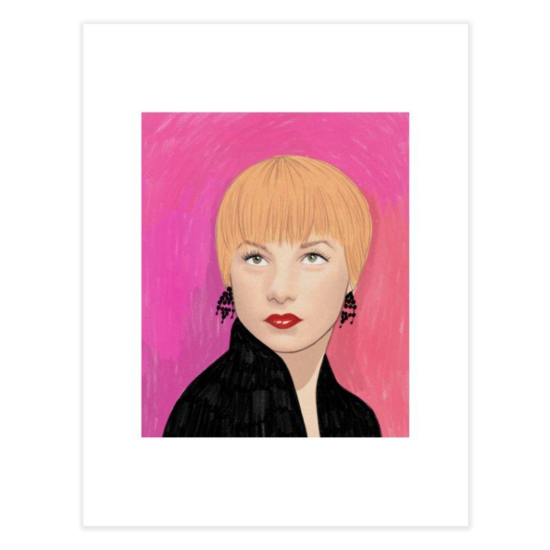 Shirley MacLaine Home Fine Art Print by Kate Gabrielle's Threadless Shop