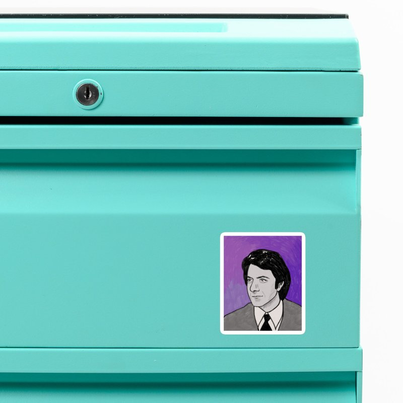 Dustin Hoffman Accessories Magnet by Kate Gabrielle's Threadless Shop