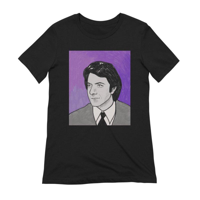 Dustin Hoffman Women's Extra Soft T-Shirt by Kate Gabrielle's Threadless Shop