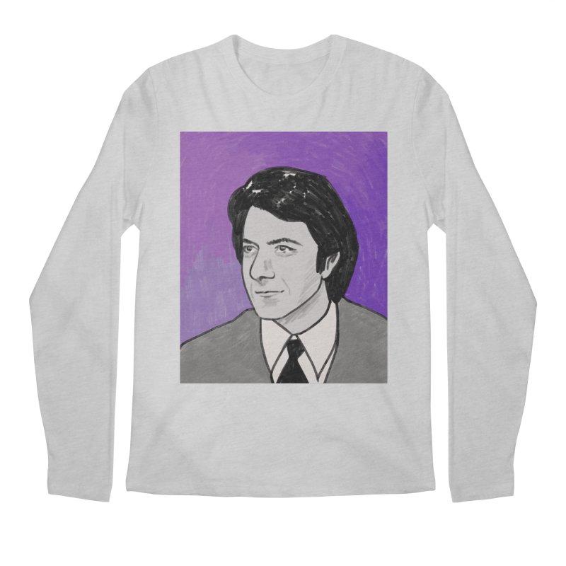 Dustin Hoffman Men's Regular Longsleeve T-Shirt by Kate Gabrielle's Threadless Shop