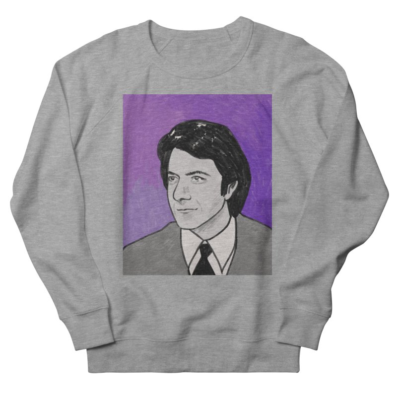 Dustin Hoffman Men's French Terry Sweatshirt by Kate Gabrielle's Threadless Shop