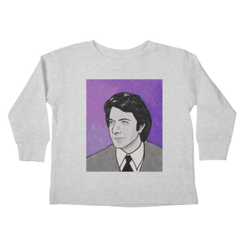 Dustin Hoffman Kids Toddler Longsleeve T-Shirt by Kate Gabrielle's Threadless Shop