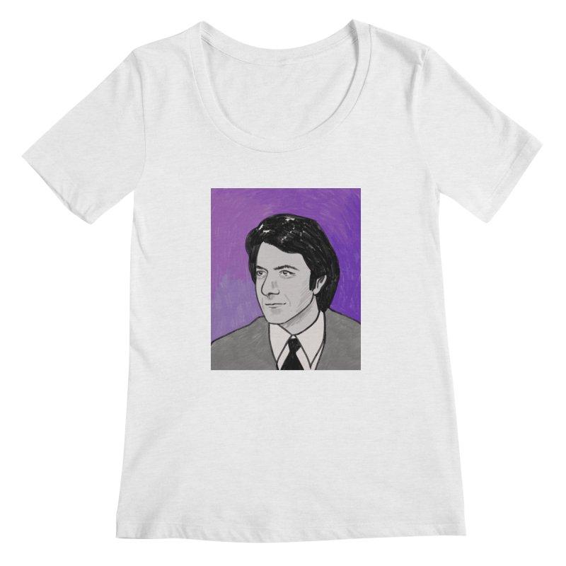 Dustin Hoffman Women's Regular Scoop Neck by Kate Gabrielle's Threadless Shop