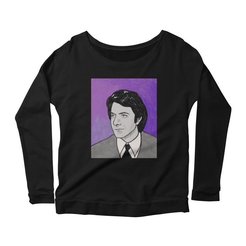 Dustin Hoffman Women's Scoop Neck Longsleeve T-Shirt by Kate Gabrielle's Threadless Shop