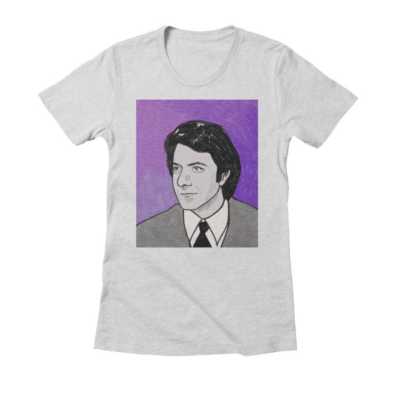 Dustin Hoffman Women's Fitted T-Shirt by Kate Gabrielle's Threadless Shop