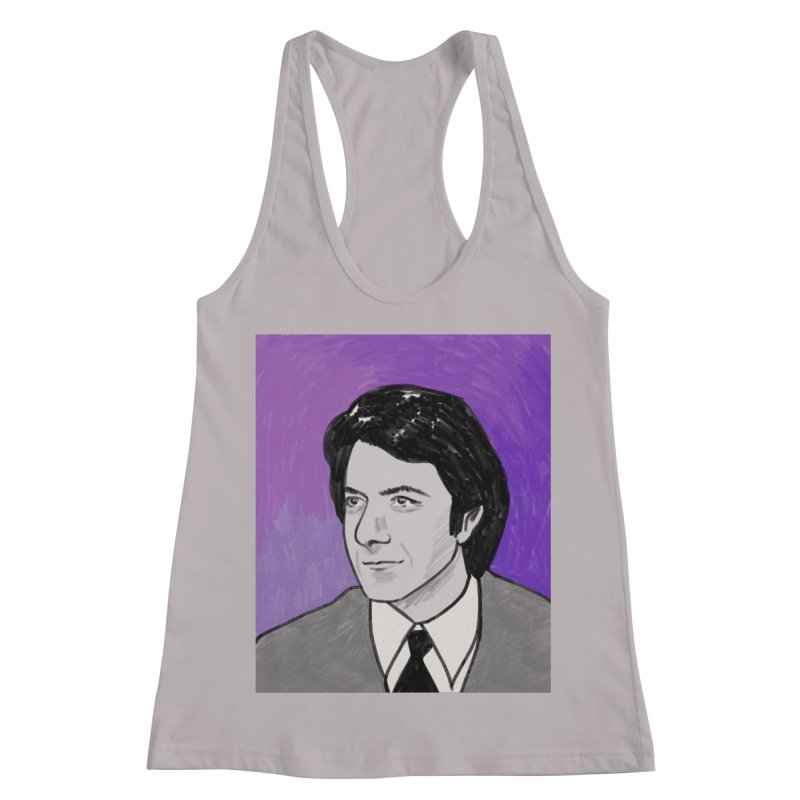 Dustin Hoffman Women's Racerback Tank by Kate Gabrielle's Threadless Shop