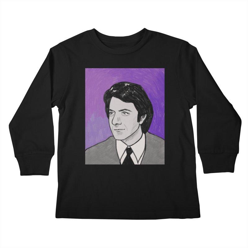 Dustin Hoffman Kids Longsleeve T-Shirt by Kate Gabrielle's Threadless Shop