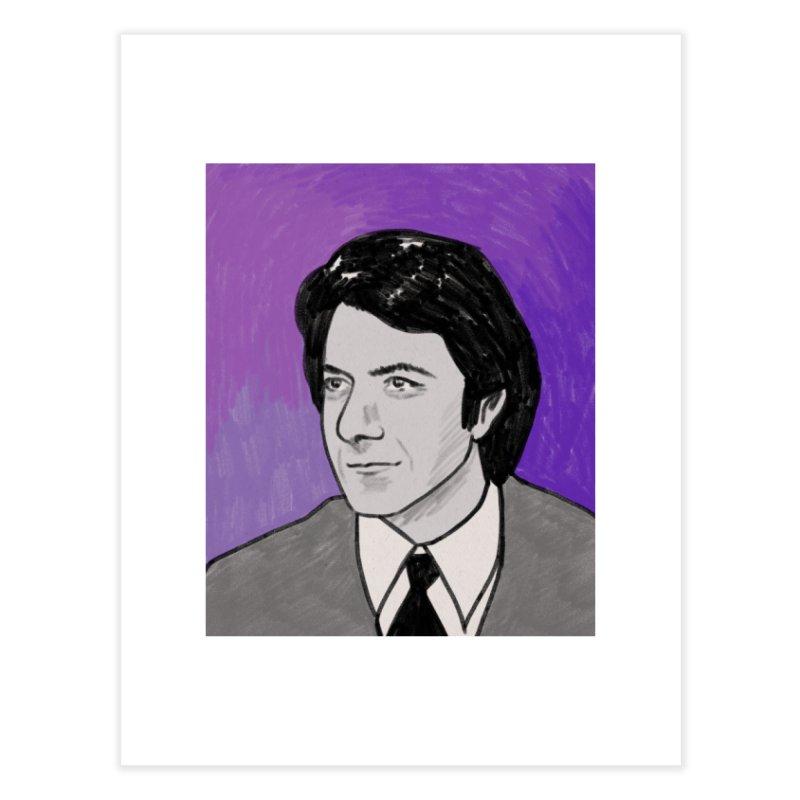 Dustin Hoffman Home Fine Art Print by Kate Gabrielle's Threadless Shop