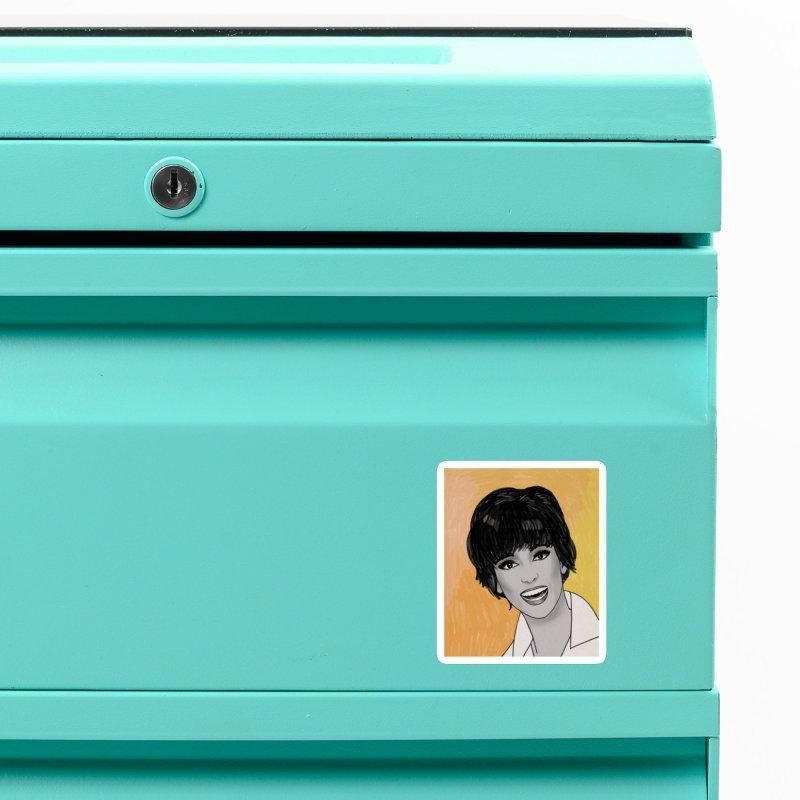 Rita Moreno Accessories Magnet by Kate Gabrielle's Threadless Shop