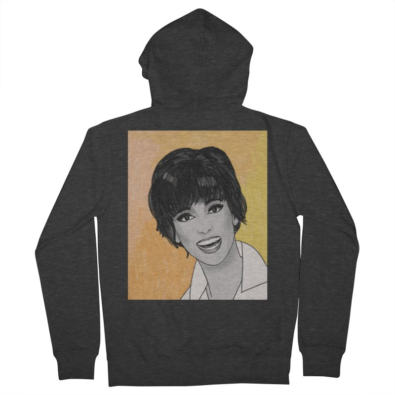 Rita Moreno Women's French Terry Zip-Up Hoody by Kate Gabrielle's Threadless Shop
