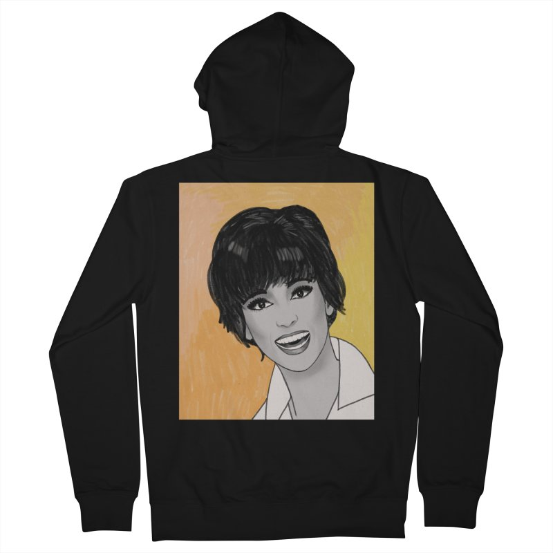 Rita Moreno Men's French Terry Zip-Up Hoody by Kate Gabrielle's Threadless Shop