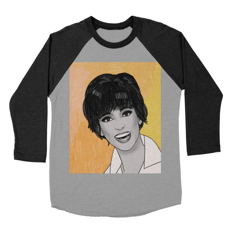 Rita Moreno Women's Baseball Triblend Longsleeve T-Shirt by Kate Gabrielle's Threadless Shop