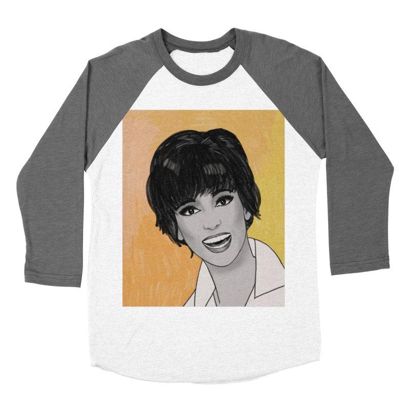 Rita Moreno Men's Baseball Triblend Longsleeve T-Shirt by Kate Gabrielle's Threadless Shop