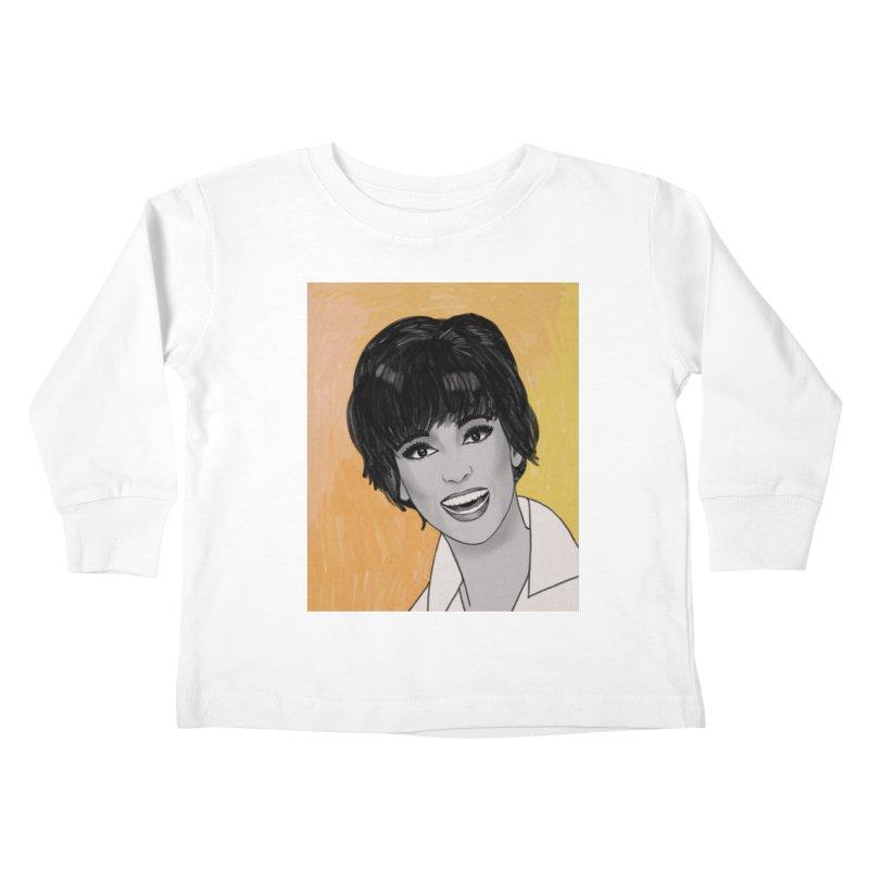Rita Moreno Kids Toddler Longsleeve T-Shirt by Kate Gabrielle's Threadless Shop