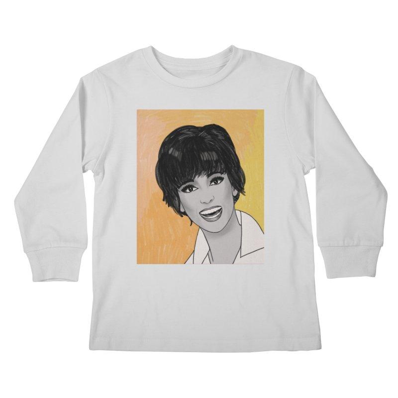 Rita Moreno Kids Longsleeve T-Shirt by Kate Gabrielle's Threadless Shop